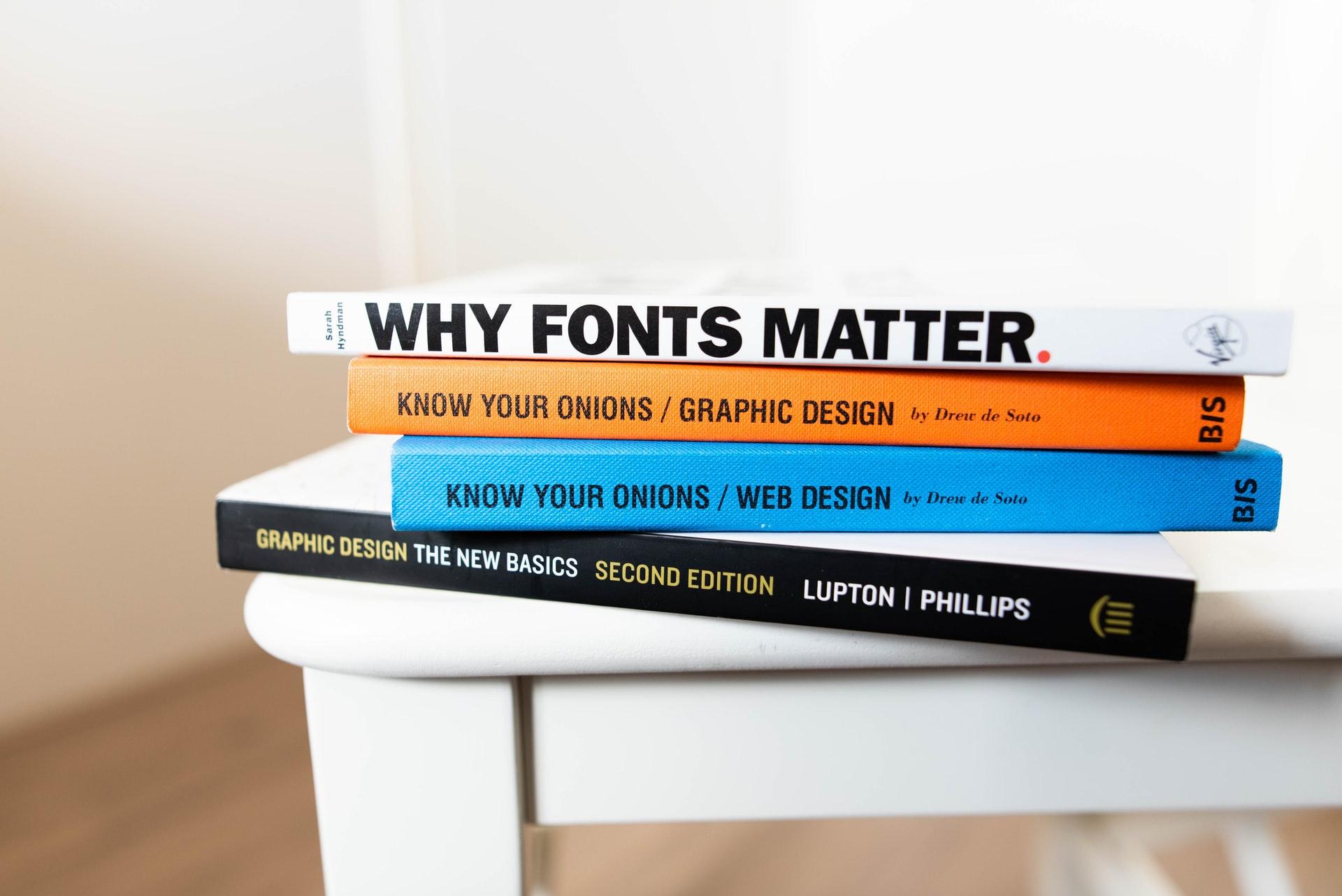 WEBフォントに関する本