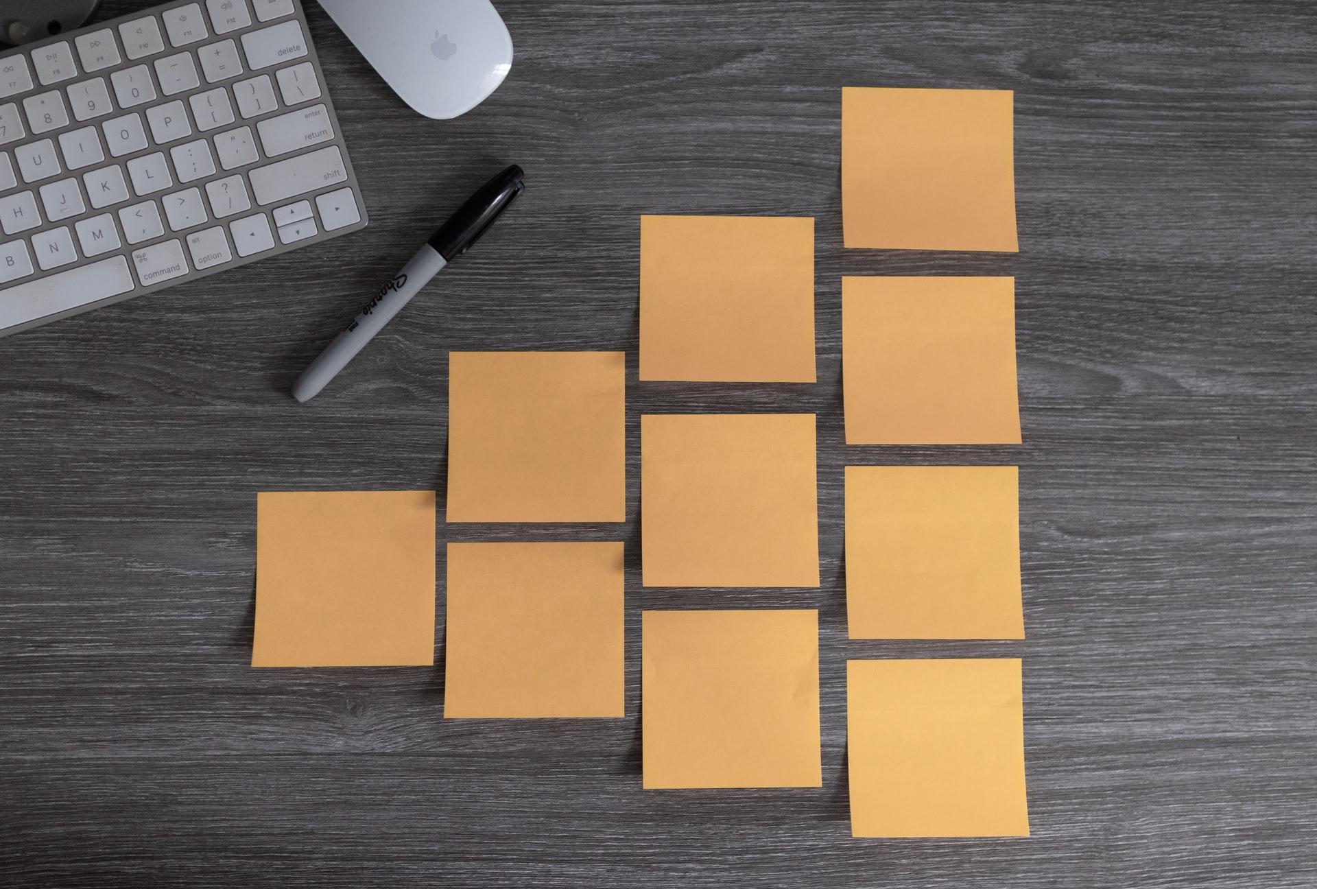整理されたメモ。分散型のイメージ。