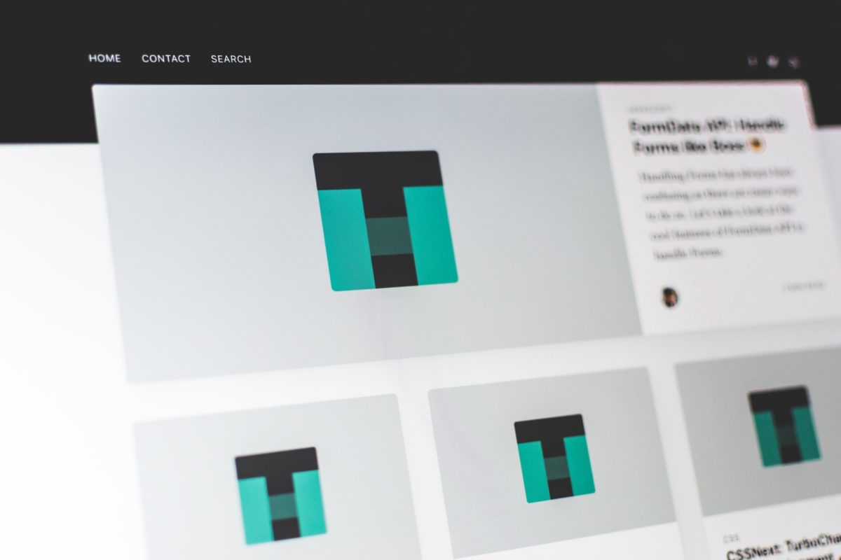 レスポンシブWEBデザインのWEBサイト