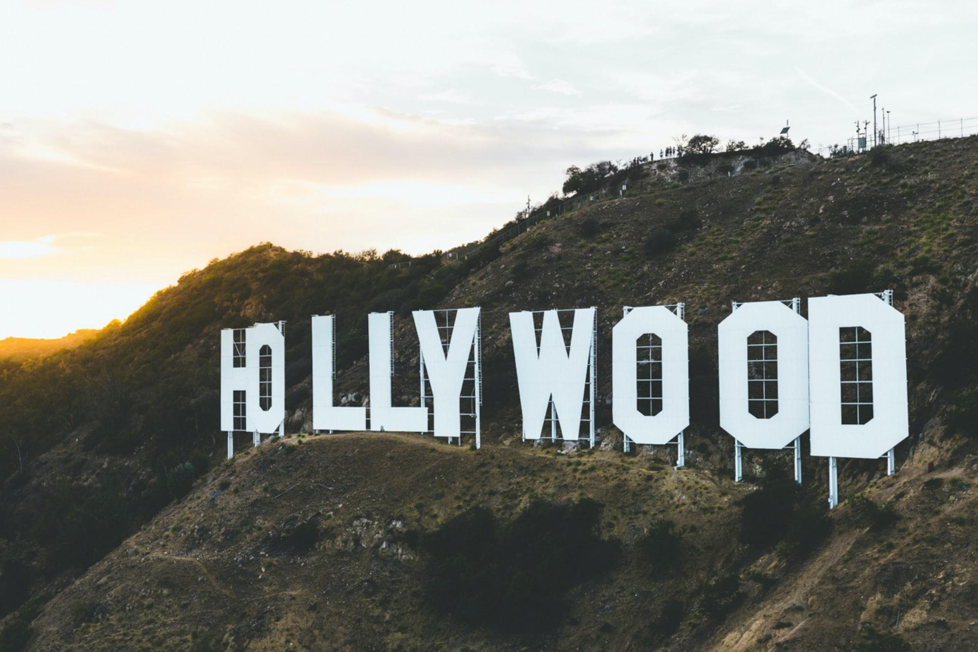 サンタモニカ丘陵のHOLLYWOODサイン