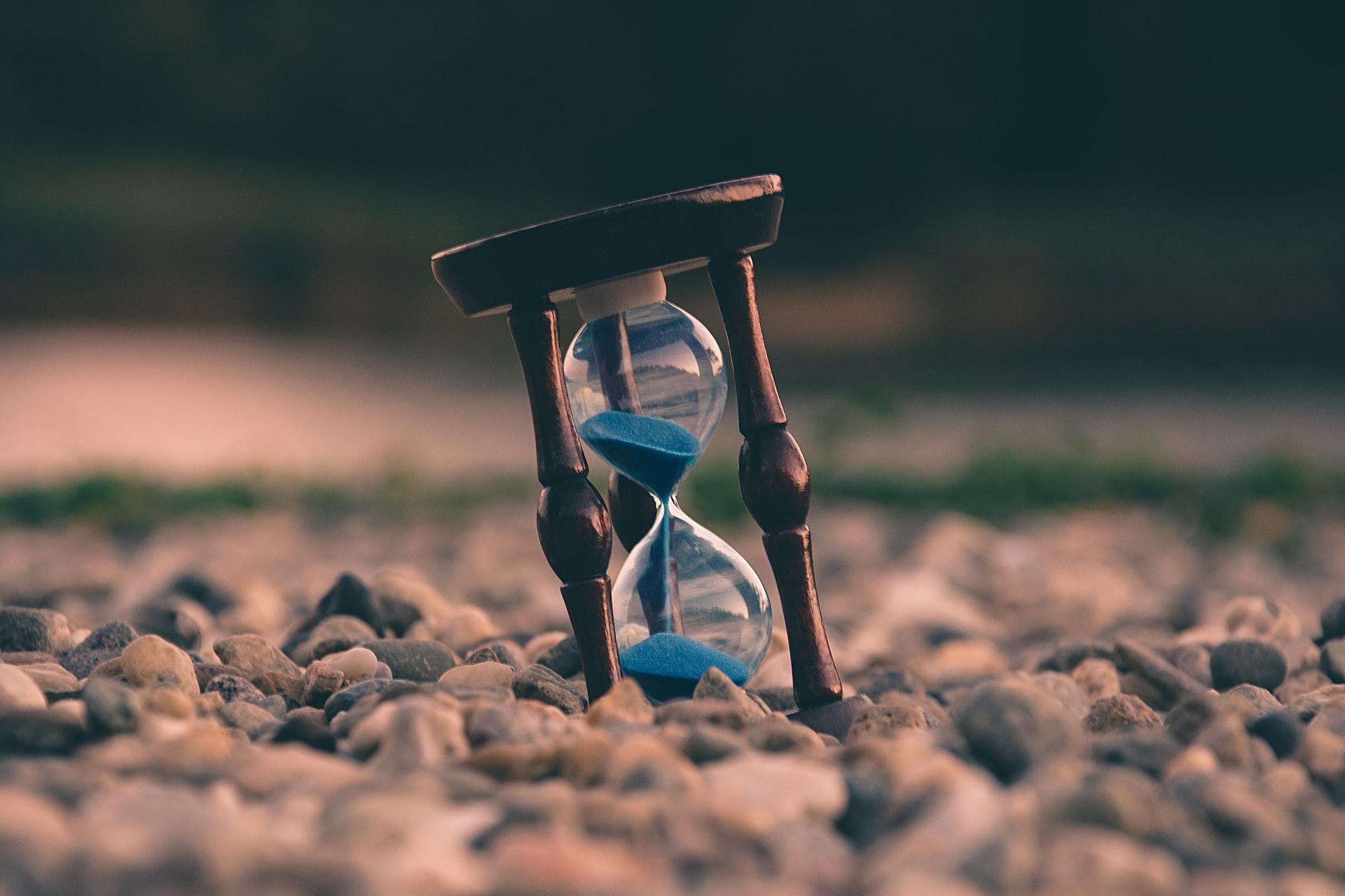 砂時計の写真
