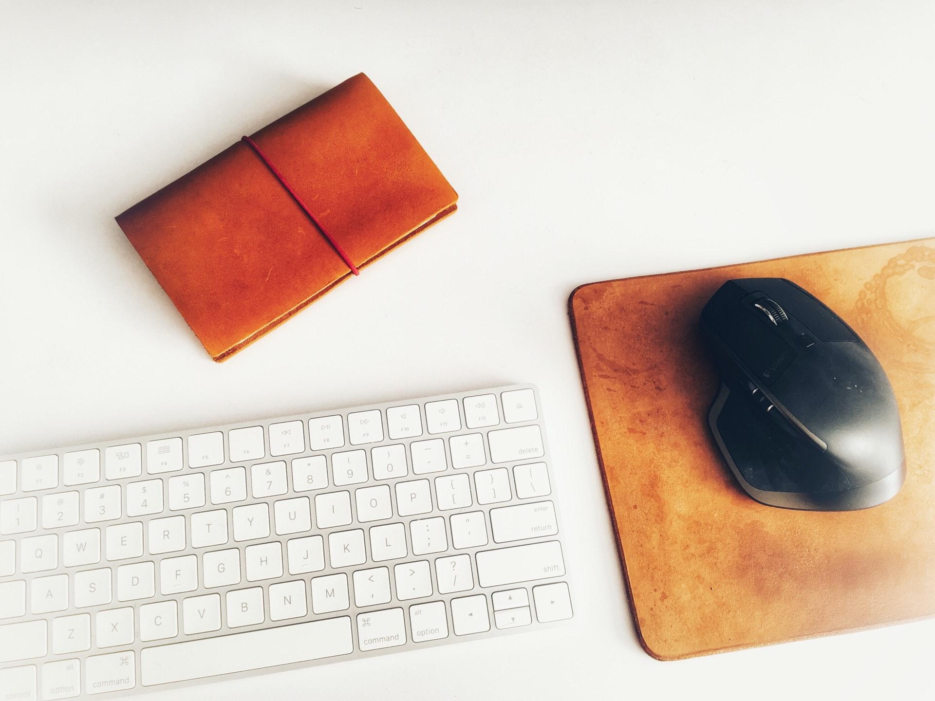 マウスとキーボードと手帳